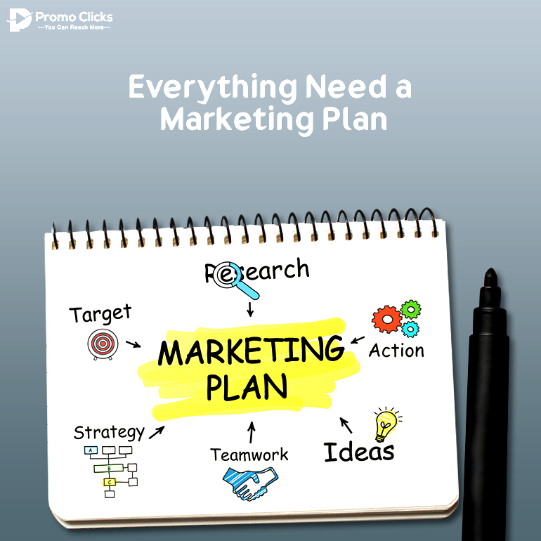 Everything Need a Marketing Plan